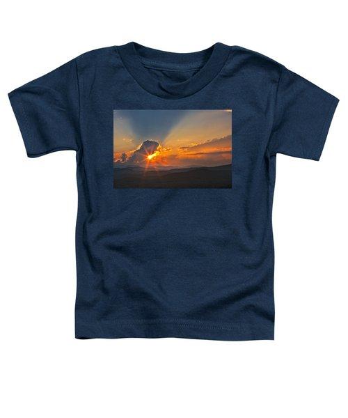 Sunset - Close Another Day Toddler T-Shirt