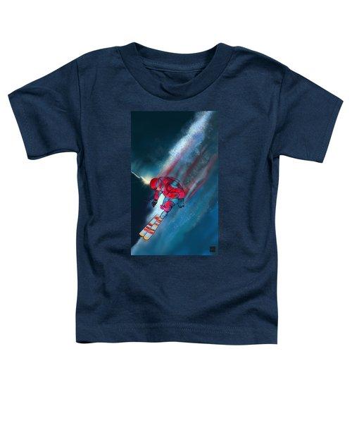 Sunset Extreme Ski Toddler T-Shirt