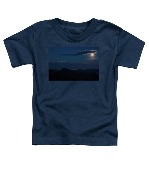 Super Moon Eclipse Toddler T-Shirt