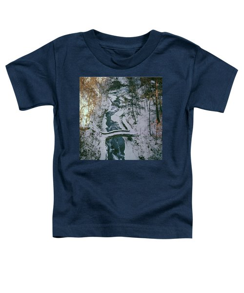 T-31501 Gorge On Cornell University Campus Toddler T-Shirt