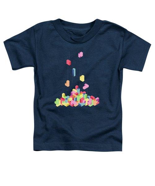 Tetrisometric Toddler T-Shirt
