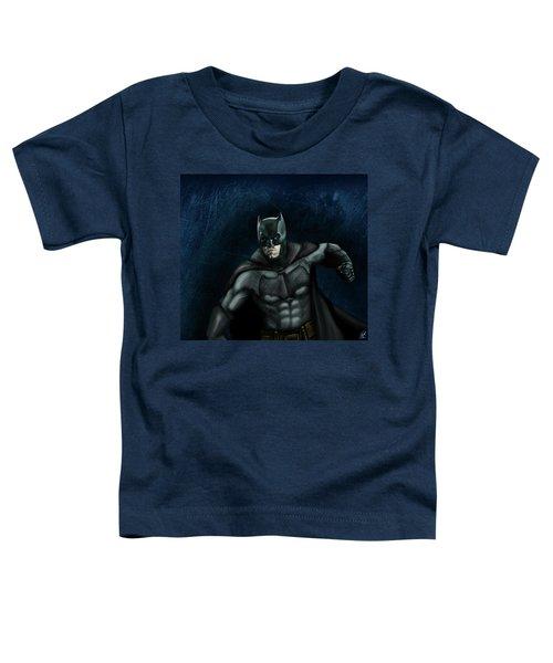 The Batman Toddler T-Shirt by Vinny John Usuriello