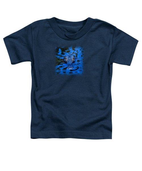 The Eyes Of A Florida Alligator Toddler T-Shirt by John Harmon