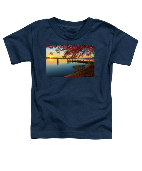 The Glassy Patuxent Toddler T-Shirt