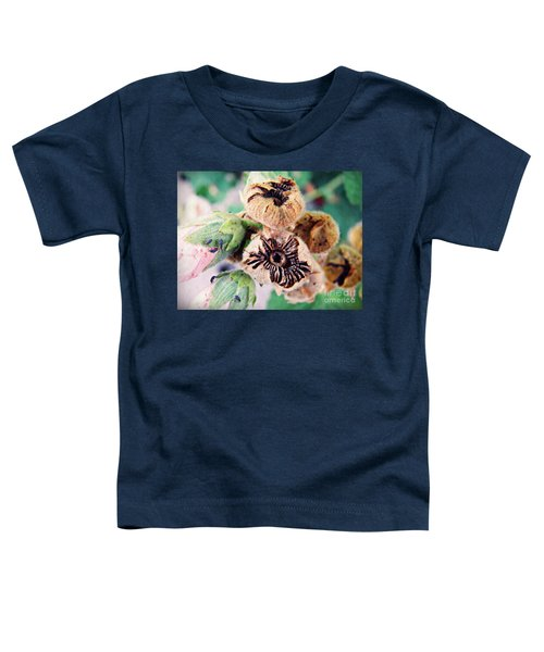 The Hollyhocks Are Gone Now 2 Toddler T-Shirt