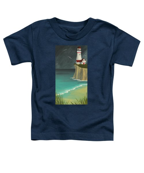 The Lighthouse On The Cliff Toddler T-Shirt