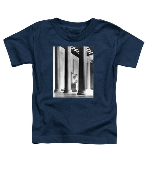 The Lincoln Memorial Toddler T-Shirt by War Is Hell Store