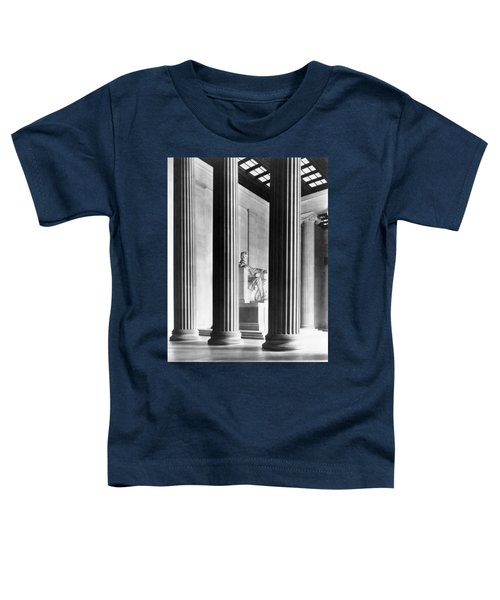 The Lincoln Memorial Toddler T-Shirt