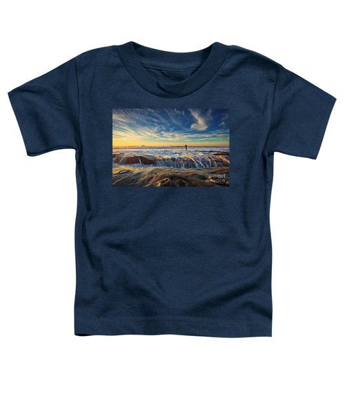 The Lone Surfer Toddler T-Shirt