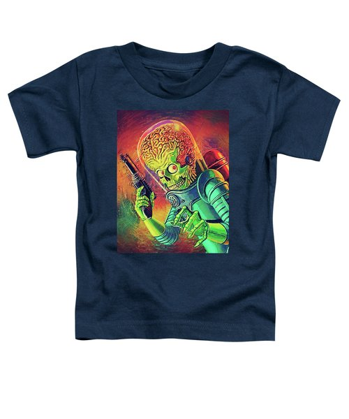 The Martian - Mars Attacks Toddler T-Shirt