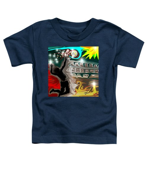 The Power Of Volleyball Toddler T-Shirt