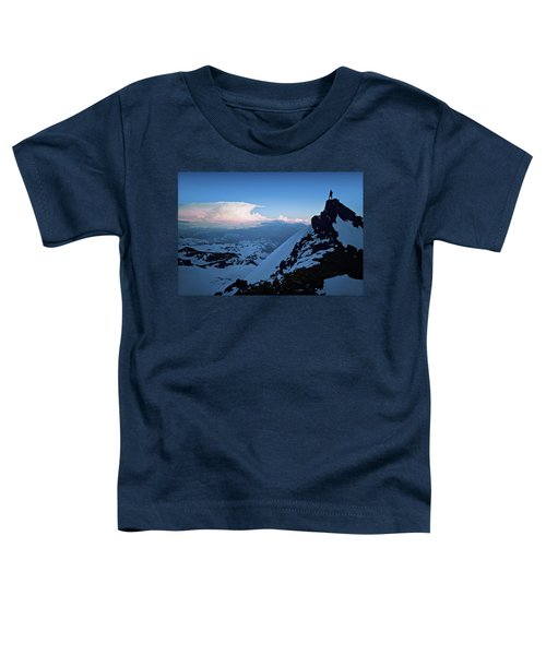 The Sunset Wave Toddler T-Shirt
