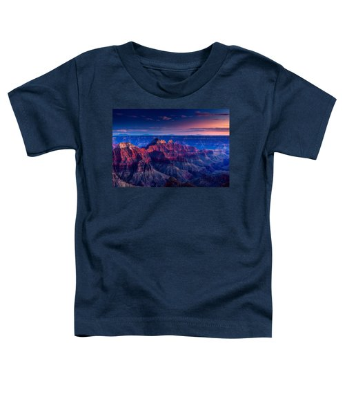 The Temples And Bright Angel Canyon Toddler T-Shirt