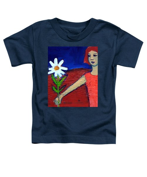 The White Flower Toddler T-Shirt