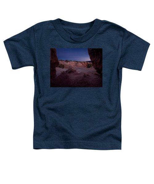 The Window In Desert Toddler T-Shirt