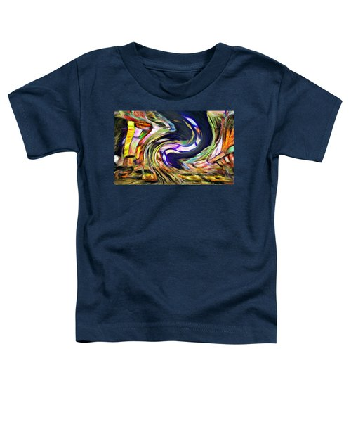 Times Square Swirl Toddler T-Shirt