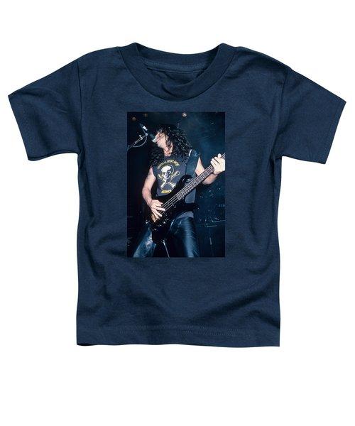 Tom Araya Of Slayer Toddler T-Shirt