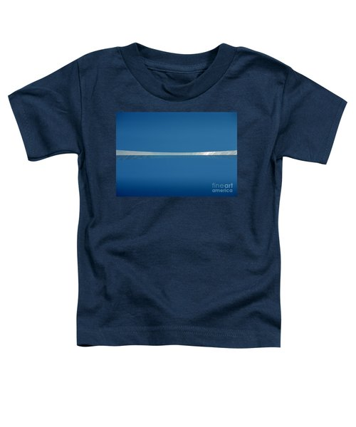 Toddler T-Shirt featuring the photograph Top Of The Arch by Peter Simmons