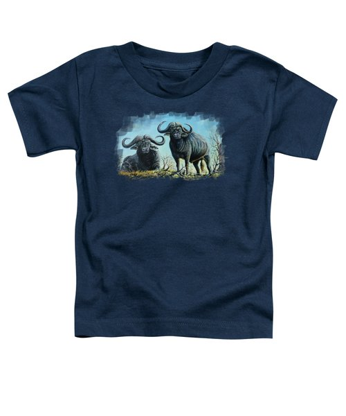 Tough Guys Toddler T-Shirt by Anthony Mwangi