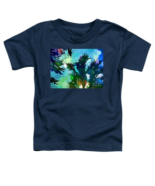 Tree Spirit Abstract Digital Painting Toddler T-Shirt