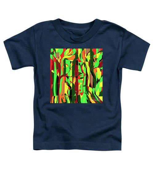 Trees In The Garden Toddler T-Shirt