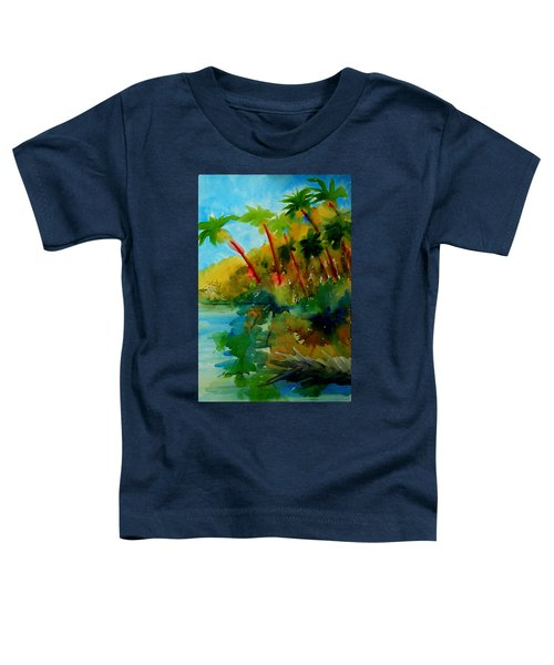 Tropical Canal Toddler T-Shirt