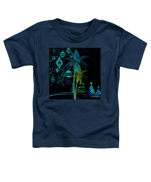 Tropical Holiday Blue Toddler T-Shirt