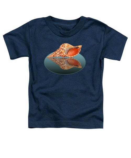 Trumpet Triton Reflection Toddler T-Shirt by Gill Billington