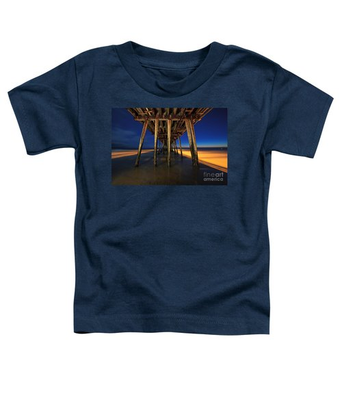 Twilight Under The Imperial Beach Pier San Diego California Toddler T-Shirt