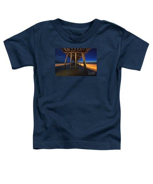 Twilight Under The Imperial Beach Pier San Diego California Toddler T-Shirt