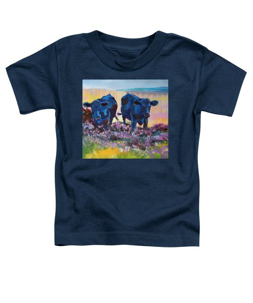 Two Black Cows On Dartmoor Toddler T-Shirt