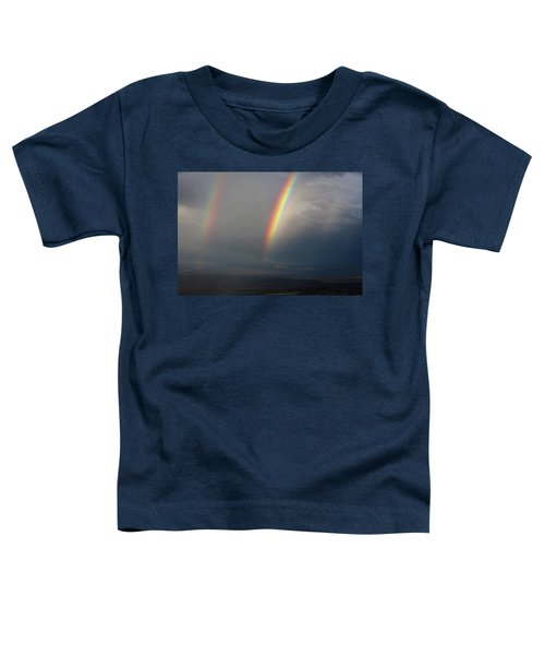 Two Rainbows Toddler T-Shirt