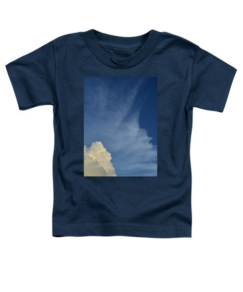 Two Tone Clouds 9384 Toddler T-Shirt