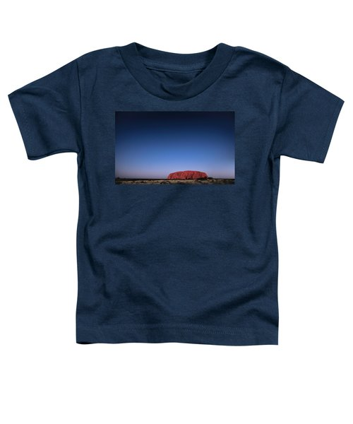 Toddler T-Shirt featuring the photograph Uluru Starry Night by Chris Cousins