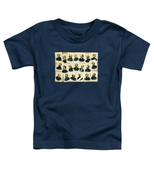 Union Commanders Of The Civil War Toddler T-Shirt