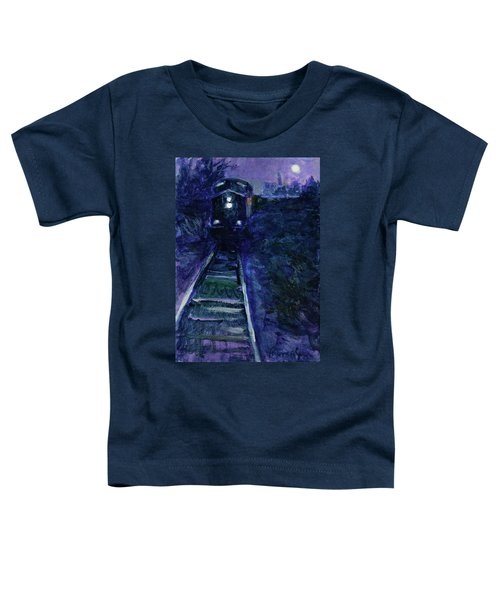 Union Pacific At Night Toddler T-Shirt