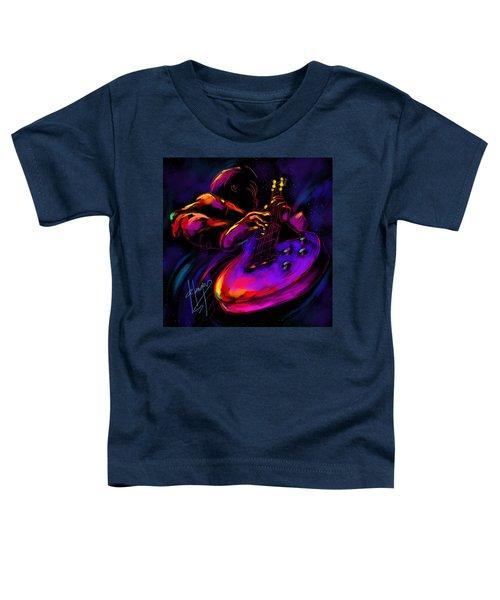 Untitled Guitar Art Toddler T-Shirt