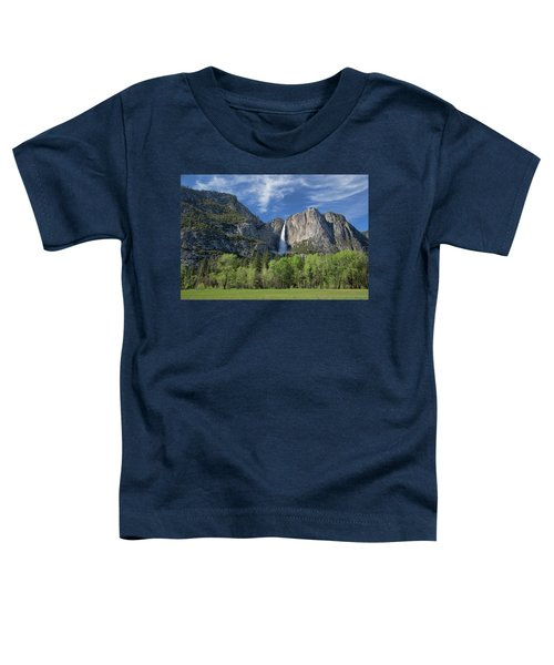 Upper Yosemite Falls In Spring Toddler T-Shirt