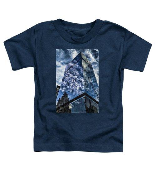 Urban Clouds Reflecting  Toddler T-Shirt