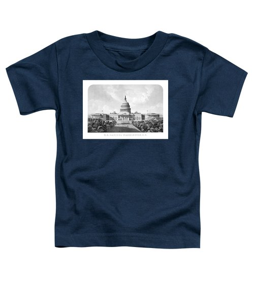 Us Capitol Building - Washington Dc Toddler T-Shirt