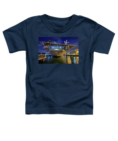 Uss Midway Aircraft Carrier  Toddler T-Shirt