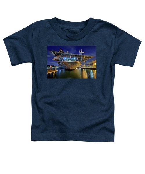 Uss Midway Aircraft Carrier  Toddler T-Shirt