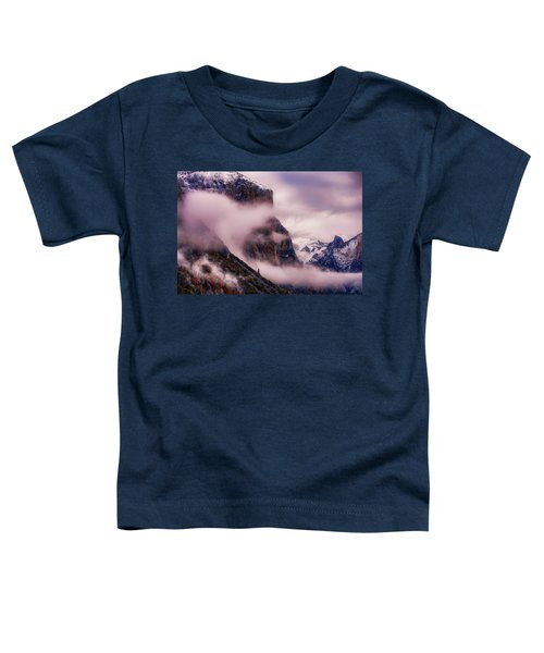 Valley Mood, Yosemite Toddler T-Shirt by Vincent James