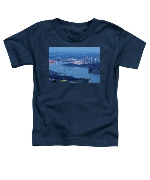 Vancouver Harbour Late Afternoon Toddler T-Shirt