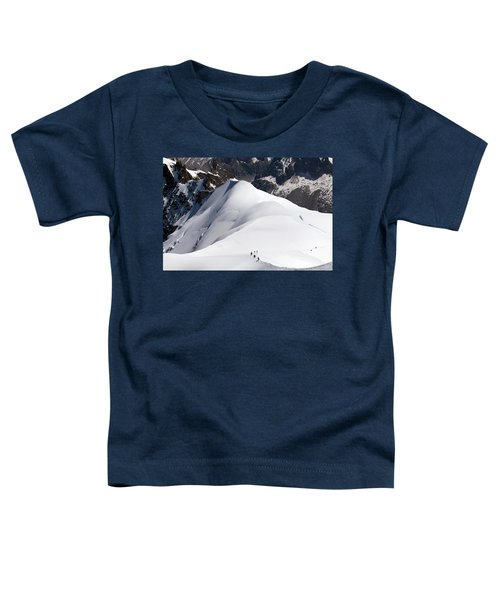 View From Aiguille Du Midi Toddler T-Shirt