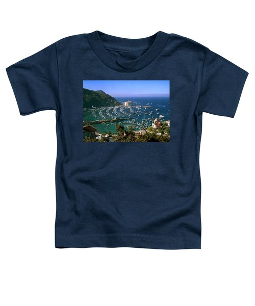 View Of Avalon Harbor Toddler T-Shirt