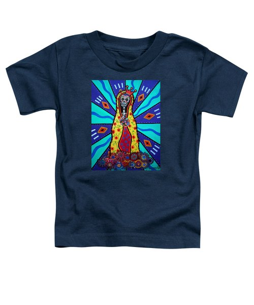 Virgin Guadalupe Day Of The Dead Toddler T-Shirt