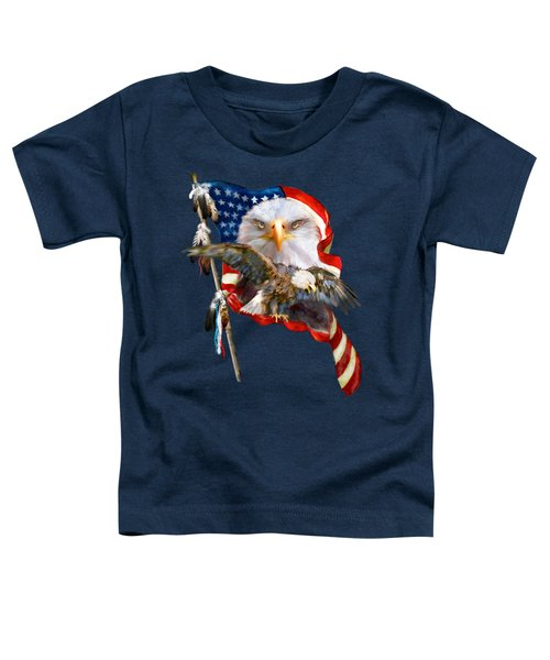 Vision Of Freedom Toddler T-Shirt