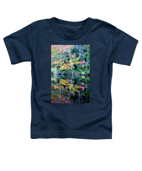 Vivid Fall Reflection Toddler T-Shirt