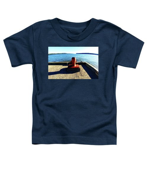 Waiting For The Ship To Come In. Toddler T-Shirt